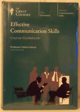 The Great Courses: Effective Communication Skills---NEW, FACTORY SEALED!!