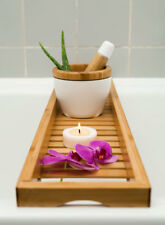 Badewannenablage, Badewannenbrett, Badewannenaufsatz aus Bambus 70cm x 16cm