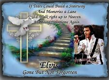 Elvis Presley Wall Plaque  It would make a great  Gift