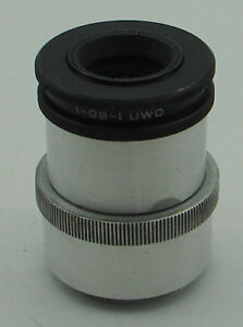 Soviet MMZ OMP1-60-1 4/60mm 14.8x Micrographic lens with M39 screw mount EXC