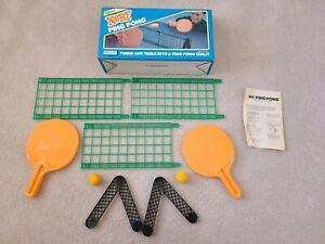 Vintage Nerf Ping Pong Set w/ Foam Balls, In Original Box