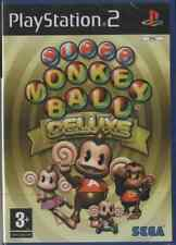 SUPER MONKEY BALL DELUXE PS2 NEUF SOUS BLISTER D'ORIGINE VF
