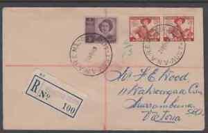 MACQUARIE ISLAND 1949 Registered cover ANARE