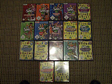 17 Pc Spiele    Die Sims    im Set    Sammlung