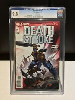 Deathstroke #1 New 52 - (DC Comics) - CGC 9.8 (Near Mint) - First Print
