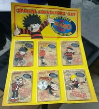 More details for special collectors set of the beano club phonecards rare