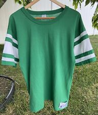 New listing Vintage 90's Green Blank Champion Color Blocked Sleeves Xl Made In Usa