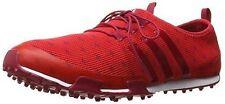 adidas Ladies Ballerina Primeknit Golf Shoes F33499 Size 6.5 Medium Red Pink