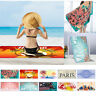 Été Enfants Adulte Serviette de plage Drap de bain en Microfibre Beach Towel