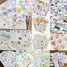 Cute Calendar Scrapbook Album Diary Book Decor Paper Planner Sticker Craft DIY