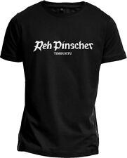 """T-Shirt """"REHPINSCHER TIMBUKTU"""" Fun Shirt Antifa Punk Comic Hund NEU S-XL fair"""