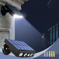 LED Solar Wall Street Light PIR Motion Sensor Outdoor Yard Park Waterproof Lamp