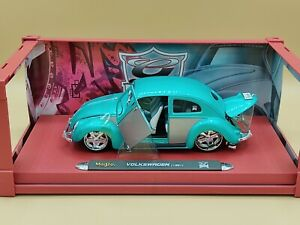 1/18 VW Volkswagen Coccinelle Beetle Sedan Vert Bugz Maisto Urban Diecast