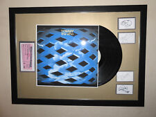 "The Who 'Tommy' Framed 12"" VINYL LP✅Tickets & Band Autographs MEMORABILIA  ✅"