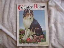 Country Home Magazine August 1936