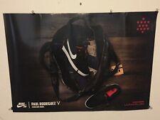 Huge Rare Nike Sb Skateboard Paul Rodriguez Poster Sign Skateboarding Doubleside