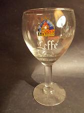 Superbe verre à bière Abbaye Leffe trappiste belge Belgique moine monastique TOP