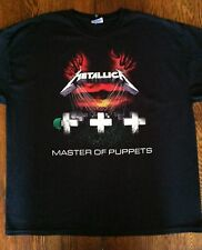 Metallica Master of Puppets T Shirt - Size 2XL - Red Hands