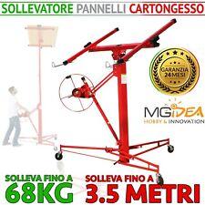 MGIDEA Alzalastre Pannelli Cartongesso - Rosso