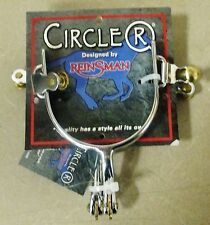 NEW Circle R Reinsman Men's All-Around Cutter Spurs - CR013