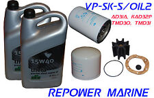 Service Kit & Oil for Volvo Penta AD31, AQ30, TAMD31,  KAD32P, replaces: 877201
