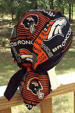 DENVER BRONCOS FOOTBALL DU RAG SKULL CAP BANDANA BIKER CHEMO CAP