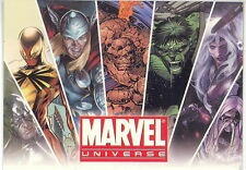 MARVEL UNIVERSE 2011 RITTENHOUSE ARCHIVES PROMO CARD P1