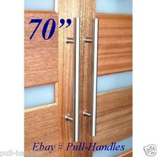 "70"" Modern premium Door Handles Pull / Push Stainless Steel Entrance / Entry"