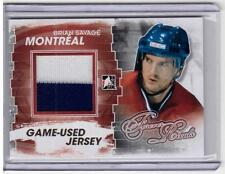 BRIAN SAVAGE 11/12 ITG Forever Rivals GOLD Jersey M-35 SP /10 Montreal Canadiens