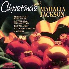 Jackson, Mahalia : Christmas With Mahalia Jackson CD