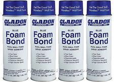 Gladon Spray Adhesive Foam Bond for Pool Wall Foam - 4 Pack
