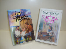 Loves Enduring Promise & A Searching Heart by Janette Oke, Lot of 2 Books