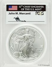 2011-W BURNISHED SILVER EAGLE-PCGS SP70-MERCANTI-FLAG-POPULATION ONLY 54!!!