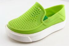 Crocs Green Synthetic Casual Shoes Toddler Boys Sz 6