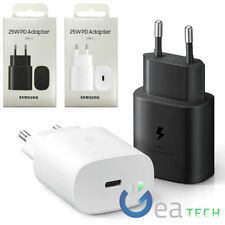 Adattatore USB-C ORIGINALE SAMSUNG Caricabatterie Muro 25W EP-TA800N Blister Per