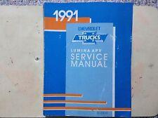 1991 Chevrolet Trucks Lumina APV Service Manual
