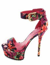 Women's Floral Party Heels