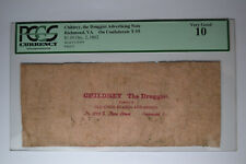 Childrey the Druggist Ad Note T55 $1 1862. Pcgs Very Good 10