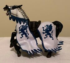 Papo Blue Dragon King's Horse Figure 39389 from the Medieval Collection