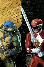 Mighty Morphin Power Rangers TMNT #1-4 Complete Collection Virgin LTD 250