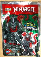 LEGO FIGURINE POLYBAG LIMITED SCELLE MINIFIGURINE NINJAGO LE VERMILLION SERPENT