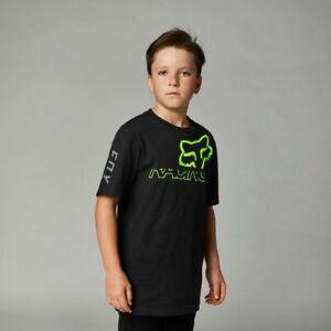 Fox Racing Youth Skew SS Tee Short Sleeve T shirt / t-shirt boys Black 28464-001
