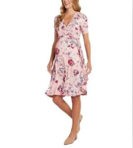 NWT!!! Matty M Ladies Maternity Floral Dress, Petal, XX-Large