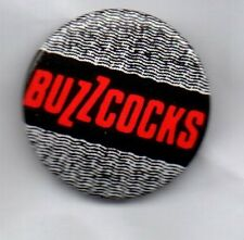 BUZZCOCKS Button Badge - English Punk Rock Band - Love Bites - Inventory 25mm