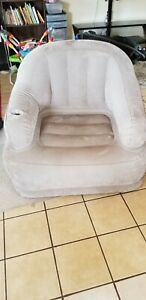 Grey- Intext Inflatable Chair - Used