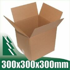 10 x Cardboard Boxes 300x300x300mm Cube Packaging Carton Mailing Box STRONG