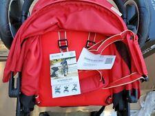 CYBEX Eternis M3 Portable Luxury Travel Push Baby Stroller Sore Demo Red