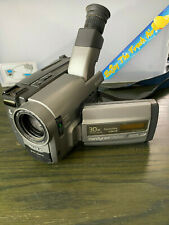 Sony Handycam 8mm Video Camera Recorder - Tested! w/Batteries, Charger, Etc