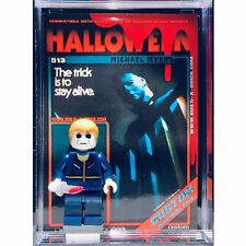 Horror Halloween Michael Myers Custom Mini Action Figure wCase MiniFig 513