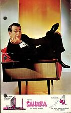 SHELLEY BERMAN Autographed Advertising Card - 1962
